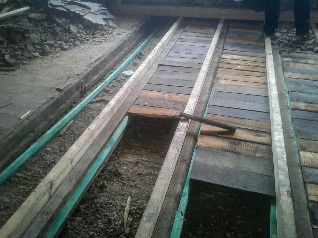 Holzfußboden Sanieren ~ Ertüchtigung einer balkenlage düsseldorf agk holzbau